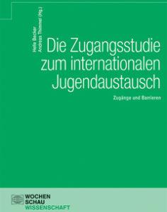 """Buch """"Die Zugangsstudie zum internationalen Jugendaustausch"""""""